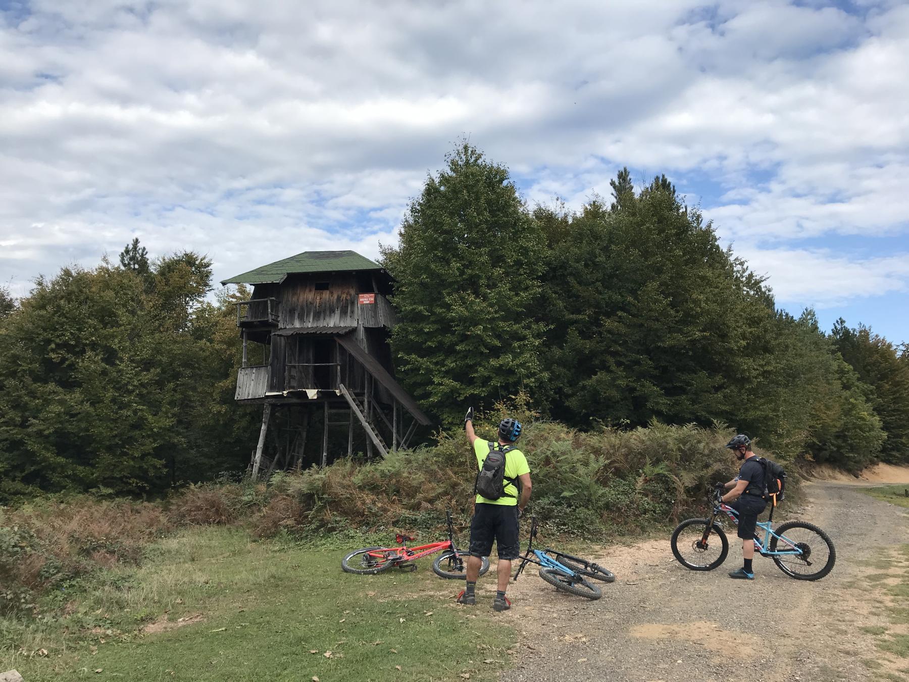 Exploring new mtb trails in Bosnia