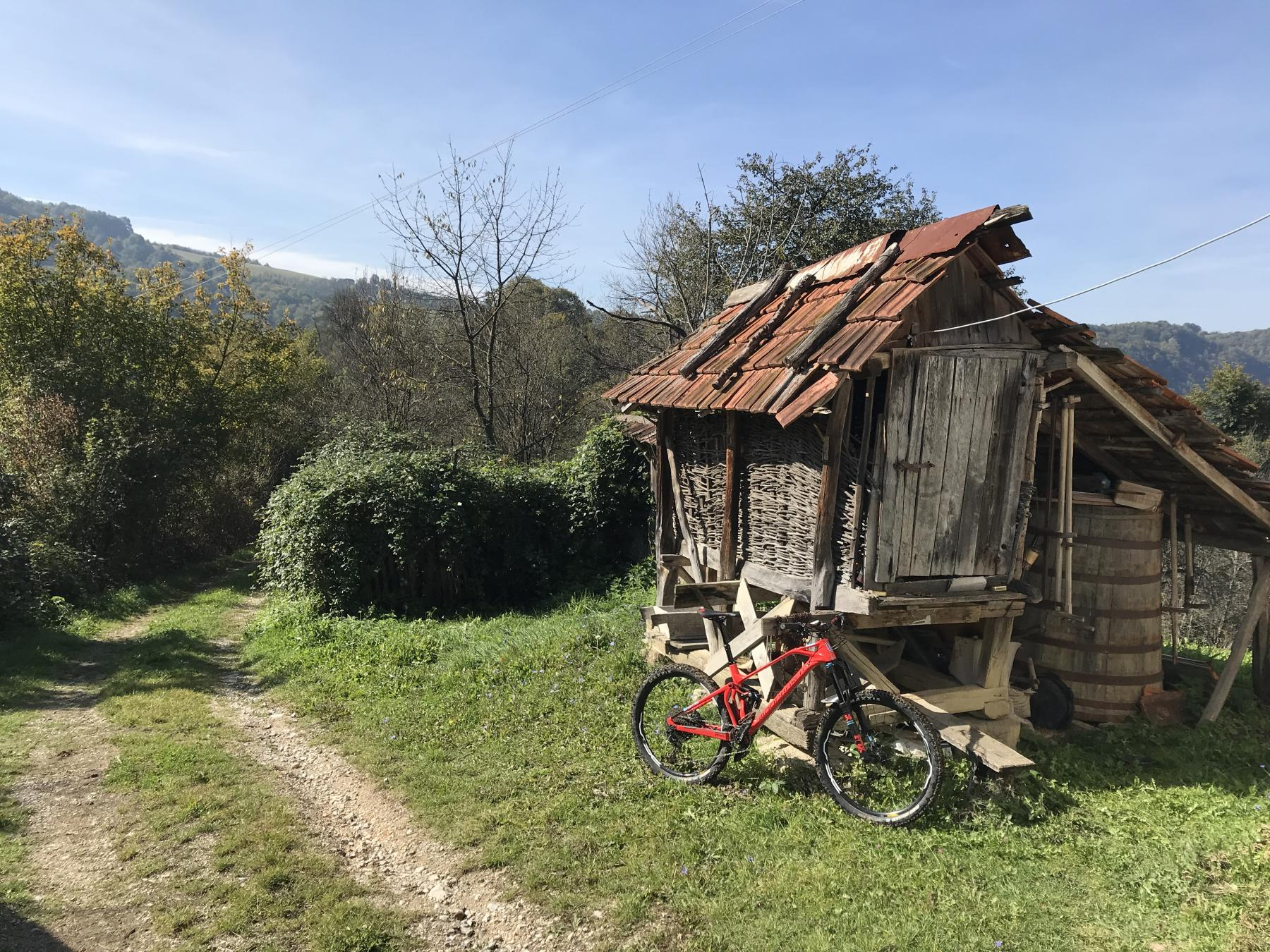 Mountain biking in Bosnia